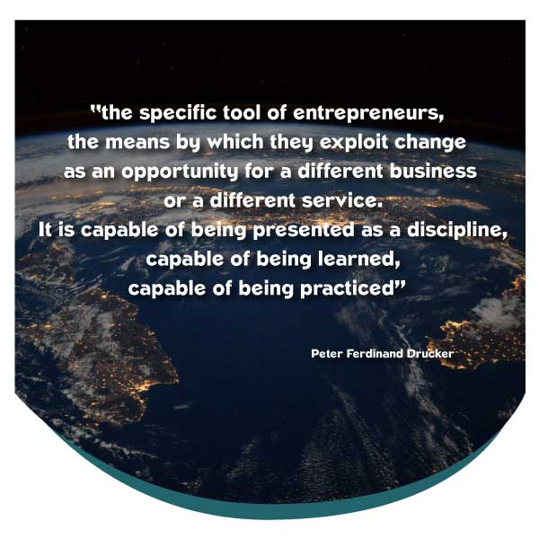 The specific tool of entrepreneurs...